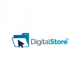 Digital Store Mouse Cursor & Folder Logo