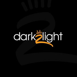 Dark to Light Minimal Logo