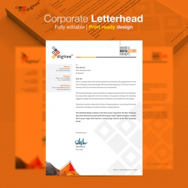 Corporate Letterhead Stationery