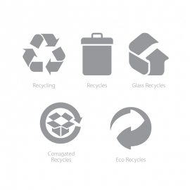 Packaging Symbols Recycling & Recycle