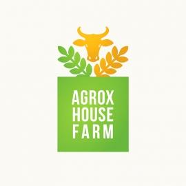 Agriculture Farm House Logo
