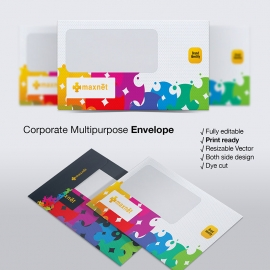 Creative Corporate Envelope