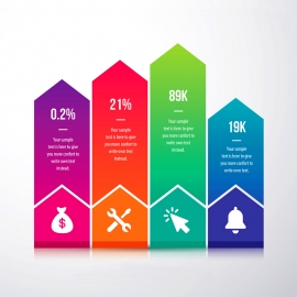 Growth & Success Arrow Infographic