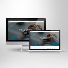 Responsive Screen Desktop & Laptop Mockup