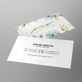 Water Color Business Card