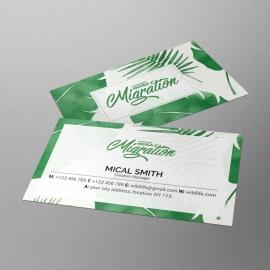 Corporate Leaf Business Card