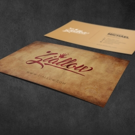 Retro Style Creative Business Card
