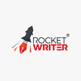Rocket Writer Pen Logo