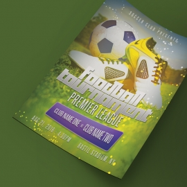 Soccer & Sports Football Flyer