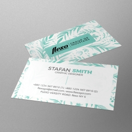 Corporate Water Color Business Card