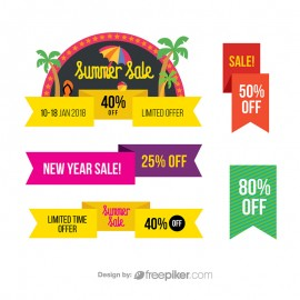 Sale & Offer Discount Banners