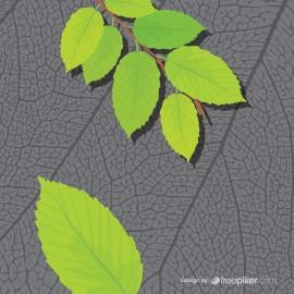 Leaf Texture Design Elements