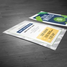 Tropical Invitation Post Card