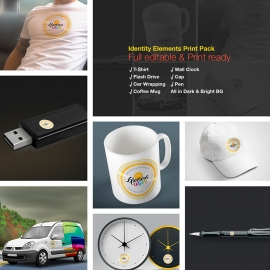 Identity Elements Print Design