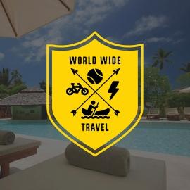 Retro Travel & Transport Badge Logo
