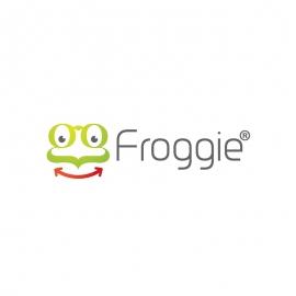 Green Frog Symbol Logo