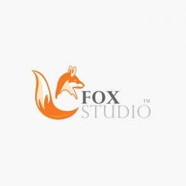 Fox Animal FoxStudio Logo