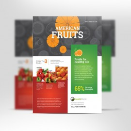 American Fruits & Health Flyer