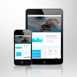 Responsive Screen Tablet & Smartphone Mockup