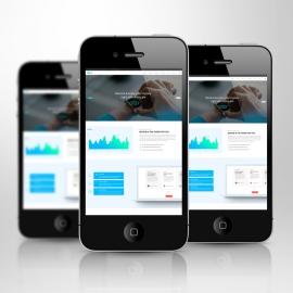 Responsive Screen Smartphone Mockup