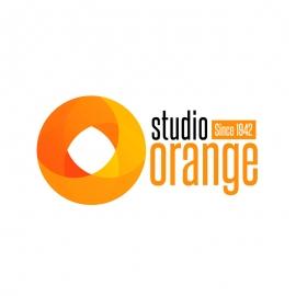 Orange Complex Circle Logo