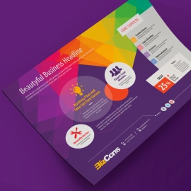 Colorful Corporate Flyer