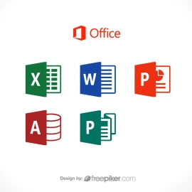 Microsoft Office Word Excel Powerpoint Publisher Icon