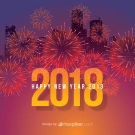 New Year 2018 & Fireworks