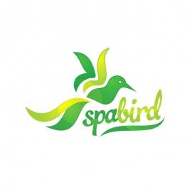SpaBird Bird Logo