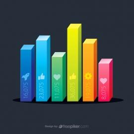 3D Column Infographics
