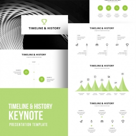 Timeline & History Keynote Template