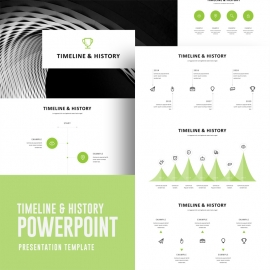 Timeline & History PowerPoint Template