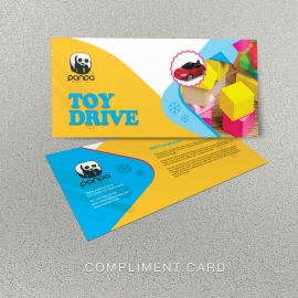 Toy Drive Compliment Card