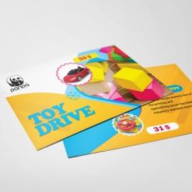 Toy Drive PostCard