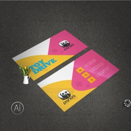 Toys Business Card Template