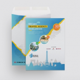 Travel Agency Catalog Envelope