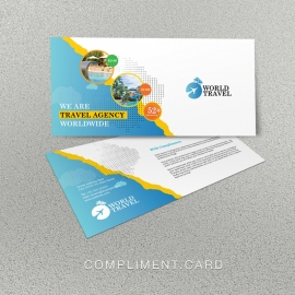 Travel Agency Compliment Card