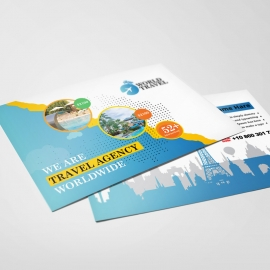 Travel Agency Post Card