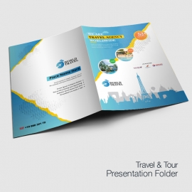 Travel Agency Presentation Folder