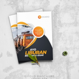 Travel Bifold Brochure Template