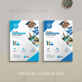 Travel Business Flyer Templates