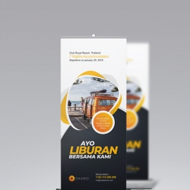 Travel Rollup Banner Signage
