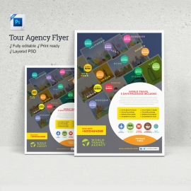 Travel & Tour Agency Flyer
