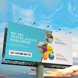 Travel & Tour Billboard