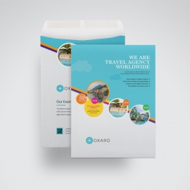 Travel & Tour Catalog Envelope