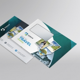 Travel & Tourism B5_Envelope With Abstract