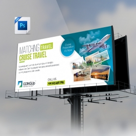 Travel & Tourism Bilboard Banner Design