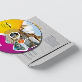 Travel & Tourism CD Pack With Yellow & Magenta