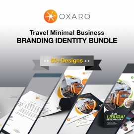 Travel & Tours Branding Identity Pack Template