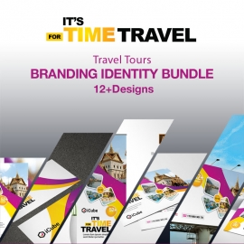 Travel Tours Identity Stationery Pack